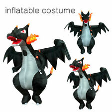 Fire-Breathing Dragon Inflatable Costume Halloween Party Outfit Prop Fancy Dress