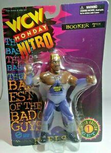 WCW WWE wrestling figure Booker T Monday Nitro Limited Edition set 1