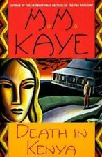 Death in Kenya Kaye, M. M. Paperback