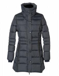 Damen Winter Reitmantel Capuc Pfiff dunkelblau XL