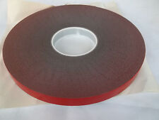 "Double sided foam tape  /3M TYPE STYLE/ 3/4""X36 YARDS (108 FEET)X45mil  #637623"