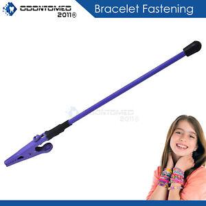 "Bracelet Buddy Jewelry Fastening Helper Arthritis Aid 6"" Purple Color"