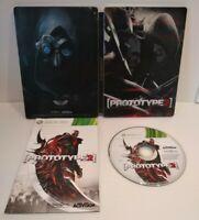 PROTOTYPE 2 Steelbook + Jeu Xbox 360- PAL français - Très bon état - Complet
