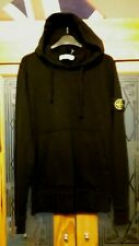 "MEDIUM 40"" CHEST GENUINE STONE ISLAND BLACK HOODY HOODIE LOUNGEWEAR"