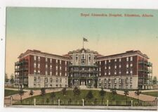 Royal Alexandria Hospital Edmonton Vintage Postcard Canada 424a