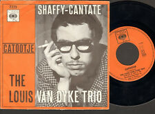 "LOUIS VAN DYKE 7"" Inch Single CATOOTJE Ramses Shaffy Cantate 1966"