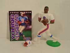 1996 Steve McNair #9 Away Jersey Houston Oilers Starting Lineup Football
