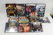 Personal Computer  PC game lot Doom 3 Devil May Cry SIMS 2 Command and Conquer 2