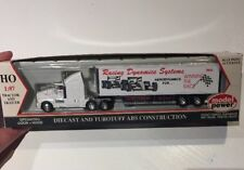 "Model Power Tractor and Trailer Diecast Model ""Racing Dynamics Systems"""