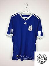 ARGENTINA 10/11 Away Football Shirt (L) SOCCER JERSEY WORLD CUP 2010