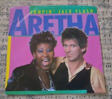 "Aretha Franklin - Jumpin' Jack Flash 7"" Vinyl Pre-Owned Ex Cond Keith Richards"