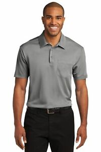 K540P Port Authority Silk Touch Performance Pocket Polo