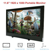 "11.6"" IPS HD Portable Monitor 1920x1080 HDMI USB LCD Display for Raspberry Pi"