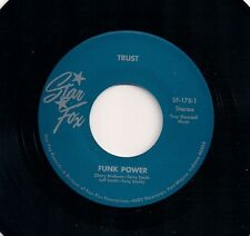 "FUNK 7"" 45 TRUST - EXPLOSION / FUNK POWER US STAR FOX  2nd ISSUE NEW MINT"