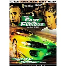 The Fast And The Furious-TRICKED OUT EDITION-DVD V/GOOD FREE POST AUS REGION 4