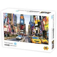 DIY Mini Puzzles Family Children Growups 1000 Pieces 42x30 Adult Kids Paper Toys