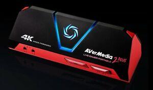 AVERMEDIA Live Gamer Portable 2 PLUS, 4K Ultra HD, Game Capture Device / Card
