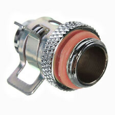 Barb Fitting Water Cooling Radiator for 3/8'' ID Turbing G1/4 Chromed DEL Finest