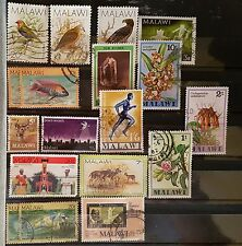 DUZIK: MALAWI Mixed Selected Stamps (No87)**