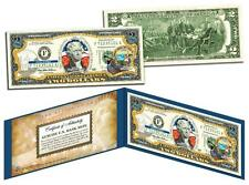 CALIFORNIA Statehood $2 Two-Dollar Colorized U.S. Bill CA State *Legal Tender*