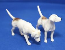Beswick Foxhounds Pair Models 26636 & 2665