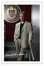 MARK HARMON NCIS AUTOGRAPH SIGNED PHOTO PRINT LEROY JETHRO GIBBS
