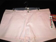 Pink Cotton Short Shorts by Dickies, Junior Size 13, NWT