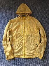 "Rare Yellow Cp Company Formula Steel Shimmer Jacket 54 52 XL Xxl 22.5""ptp Vgc"