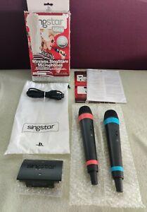 Microphones Sans Fil Singstar Sony PS4 PS3 PS2 - récepteur micro mics Wireless