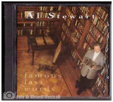 AL STEWART - FAMOUS LAST WORDS **NUOVO SIGILLATO** Gala records Timbro Siae