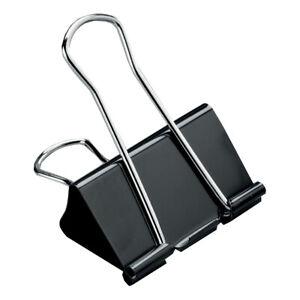 Foldback Letter Clips Metal Paper Binder Grip Receipt Filing Binding size choice