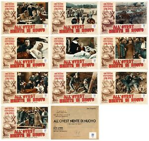 ALL QUIET ON THE WESTERN FRONT FOTOBUSTE 10 PZ. 1930 FIRST POST-WAR LOBBY CARD