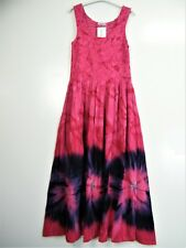 Talla Grande Estilo Por Capas 100% viscosa fruncido boddice Vestido de verano 12