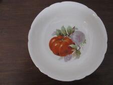Schüssel Bareuther Porzellan  innen Obstdekor , mit leichtem Goldrand