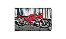 Cr750 Motorbike A4 photo Retro Bike