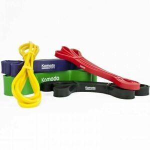 Resistance Exercise Bands Range of Thicknesses for Strength and Core Training