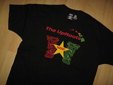 The Uproots Tee - Roots Rock Reggae Hilo Hawaii Band Concert Tour T Shirt XLarge