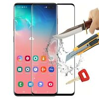 For Samsung Galaxy S10 Full Cover Tempered Glass Shockproof Screen Protector