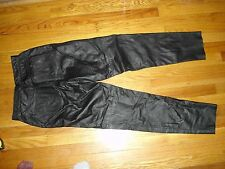 Leather Pants, Womens size 9- 10
