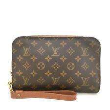 Authentic Louis Vuitton Monogram Pochette Orsay Clutch Second Hand Bag /u307