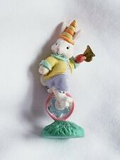 Cottontail Lane Carnival Bunny Clown Riding Unicycle Midwest Of Cannon Falls