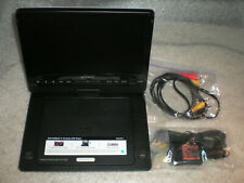 "Sony DVP-FX930 Portable DVD Player 9"" Swivel Display W/ Car Adapter NO BATTERY"