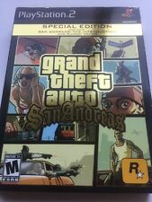 Grand Theft Auto: San Andreas -- Special Edition Sony PlayStation 2 PS2 COMPLETE