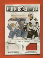 MARIAN HOSSA- 2012-13 Limited Limited Travels Dual Jersey #d/199 Atlanta/Chicago