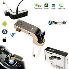 G7 Bluetooth Wireless Car Radio FM Transmitter USB Charger Mp3 Player