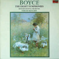 William Boyce , Menuhin Festival Orchestra - The Eight Symphonies (LP)
