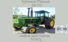 John Deere 4430 Amp 4630 Tractor Service Technical Manual Tm1172 On Cd
