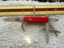 Wenger Forester Swiss Army knife in red  - no pick and tweezers