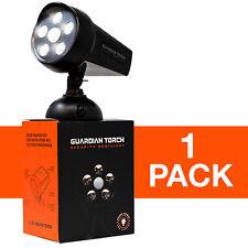 GUARDIAN TORCH Home Security Spotlight Solar Powered Light Floodlight