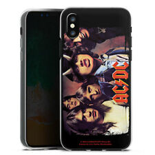Apple iPhone X Silikon Hülle Case - ACDC HIGHWAY